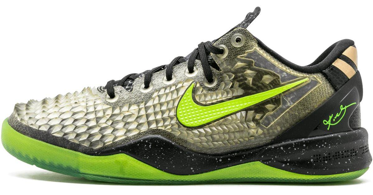 900e8b3affd5 Lyst - Nike Kobe 8 (gs) in Green for Men