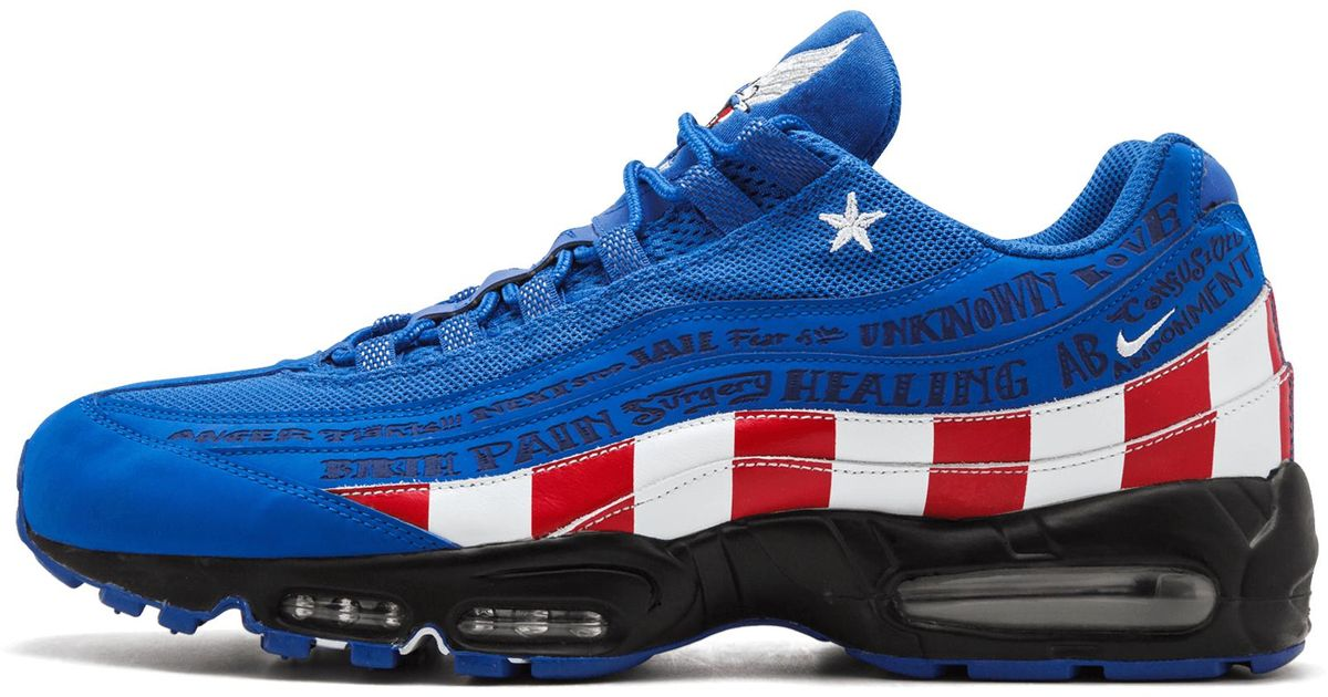wholesale dealer 5d4c7 e4971 ... low price lyst nike air max 95 le db in blue 09a12 c9172