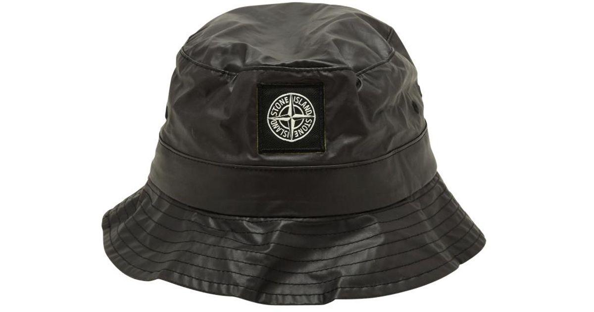 cc77b56ee65e Lyst - Supreme Stone Island Crusher Hat in Black for Men