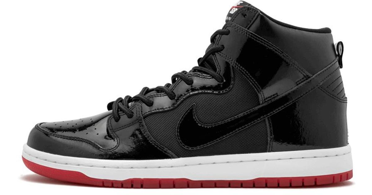 0b8a323f2bee Lyst - Nike Sb Zoom Dunk High Tr Qs in Black for Men - Save 42%