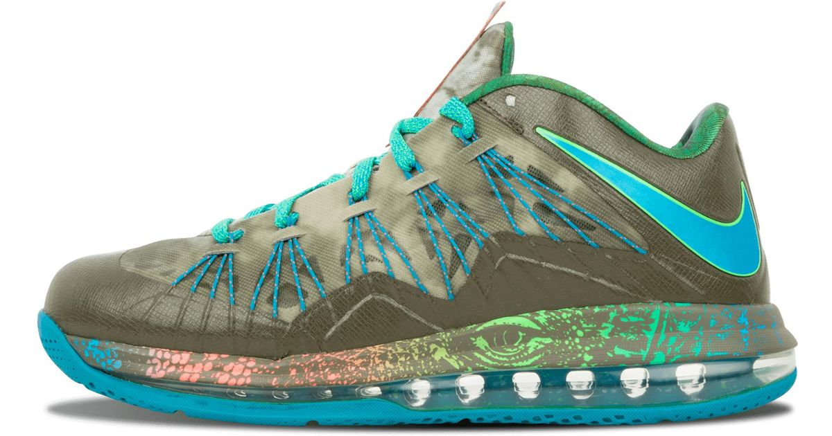 cda2d580d71 Lyst - Nike Air Max Lebron 10 Low in Blue for Men