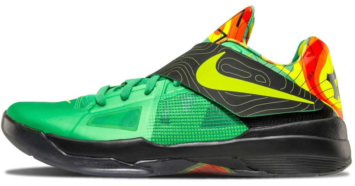 197cdf98206f Lyst - Nike Zoom Kd 4 in Green for Men - Save 21%