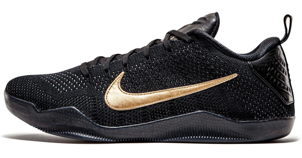 cdbc4f3869c0 Lyst - Nike Kobe 11 Elite Low Ftb in Black for Men - Save 11%