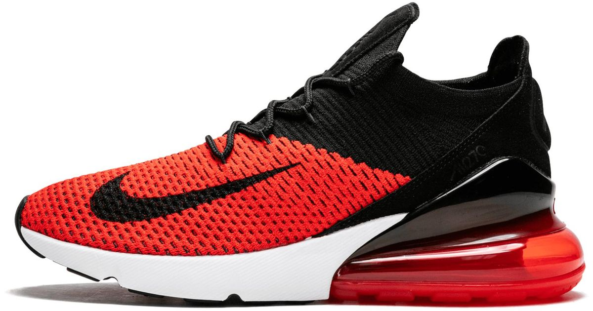 online store b9d61 a3dd0 Nike - Red Air Max 270 Flyknit for Men - Lyst