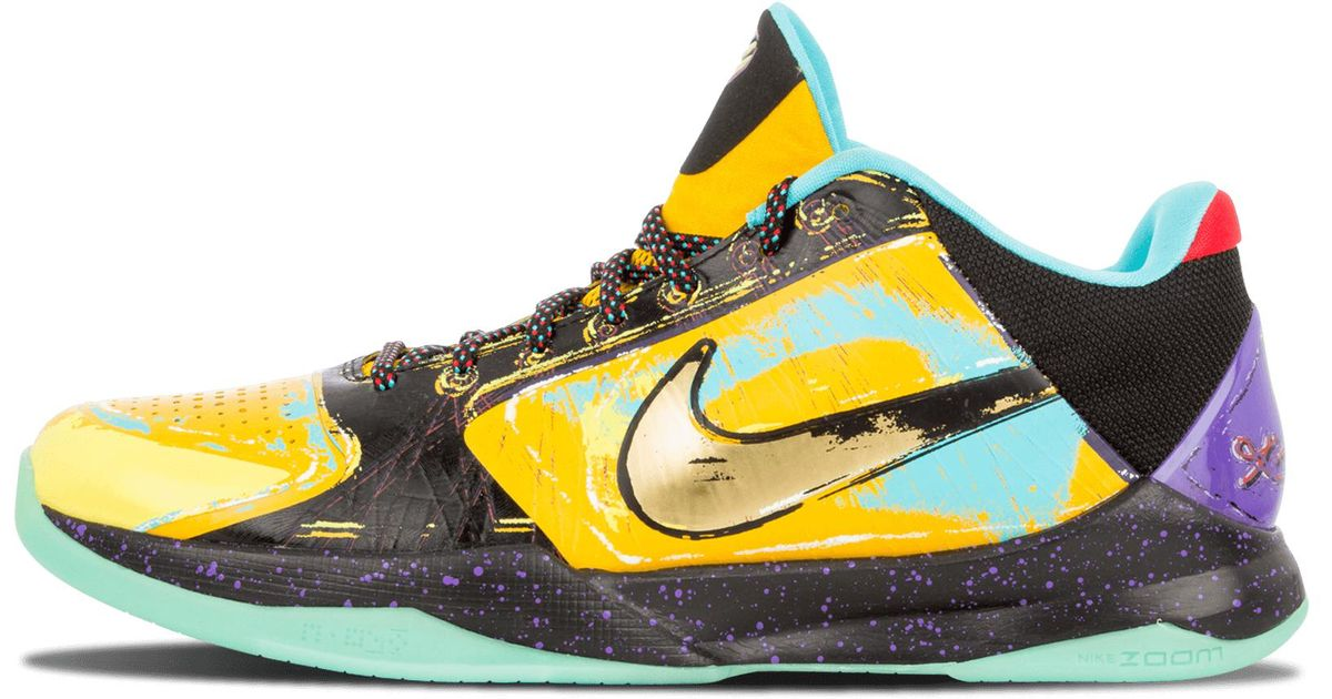 Lyst - Nike Zoom Kobe 5 Prelude in Yellow for Men 91b8ded0b9f5