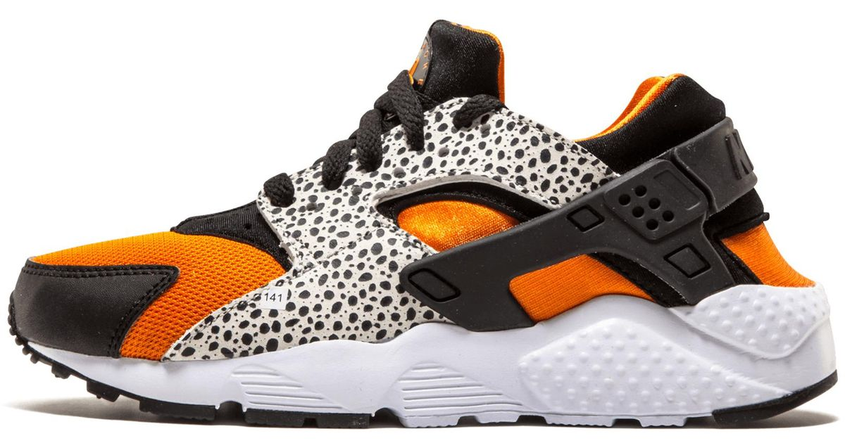 fcc535b91ca81 Lyst - Nike Huarache Run Safari Gs in White