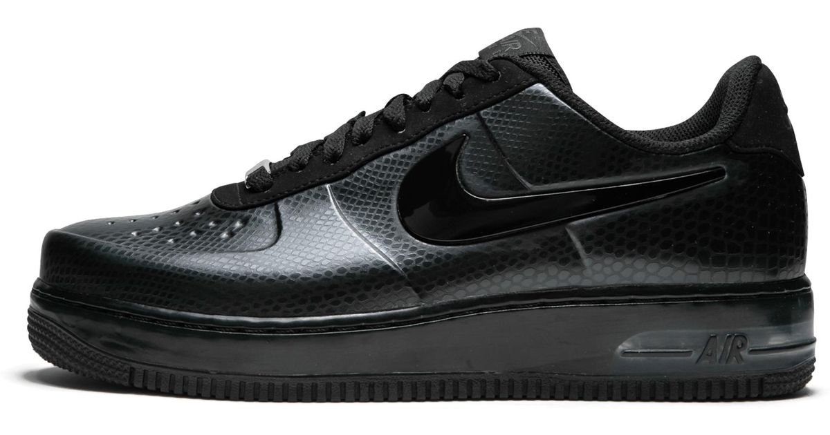 94c9860a6a3a9 Nike Air Force 1 Foamposite Pro Low in Black for Men - Lyst
