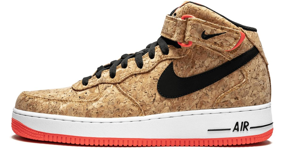 Air '07 For Nike Men Natural Lyst Cork Mid Force 1 qSUGMVzp