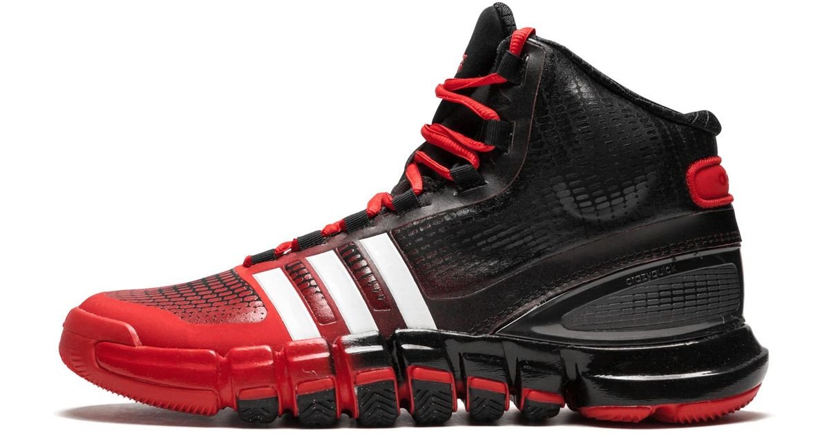 brand new 70049 06229 Lyst - Adidas Crazy Quick in Red for Men