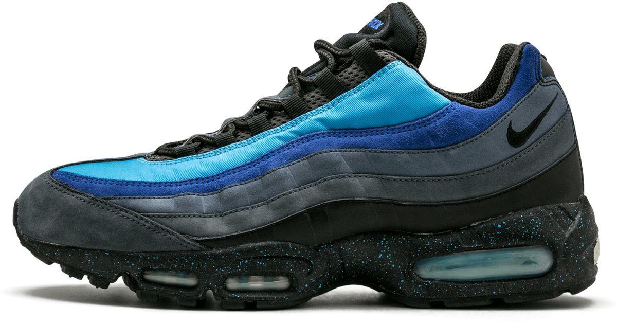 san francisco aacf6 12cbb Nike - Air Max 95 Harbor Blue/black 'stash' for Men - Lyst