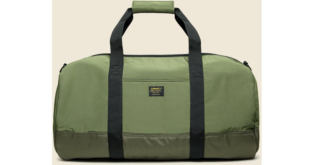 38f1797d99 Carhartt WIP Military Duffle - Rover Green/cypress in Green for Men - Lyst