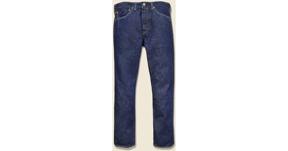 addda73b03e Levi's Premium 501 Usa Jean - Dark Rinse in Blue for Men - Lyst