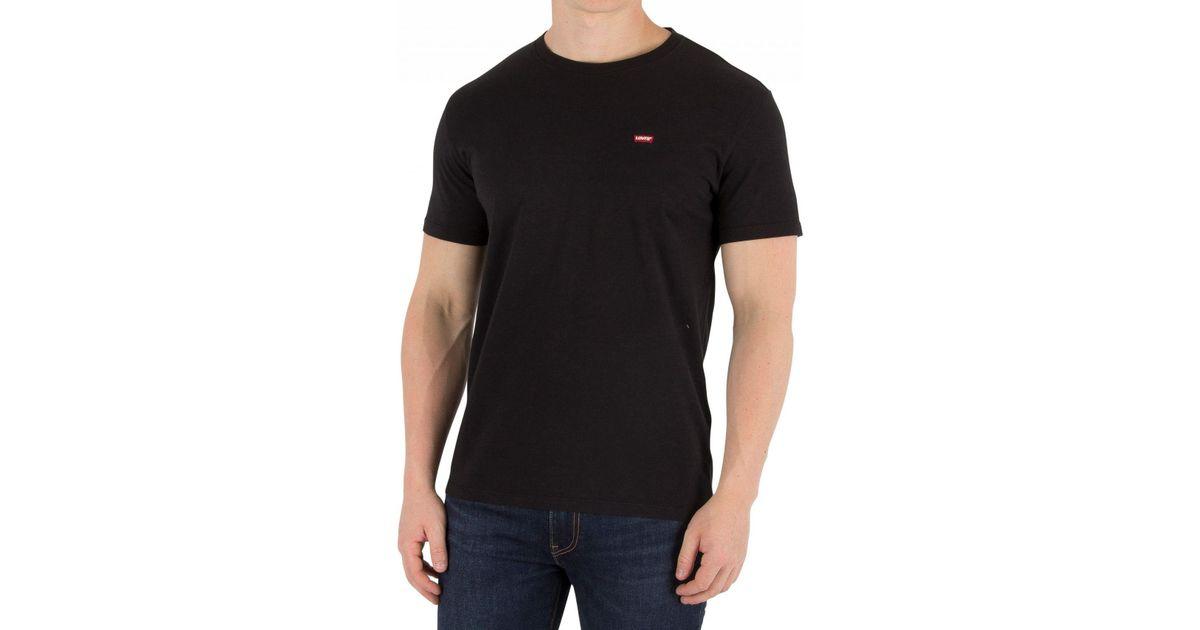 60b6b71f4 Lyst - Levi's Original T-shirt in Black for Men - Save 6%