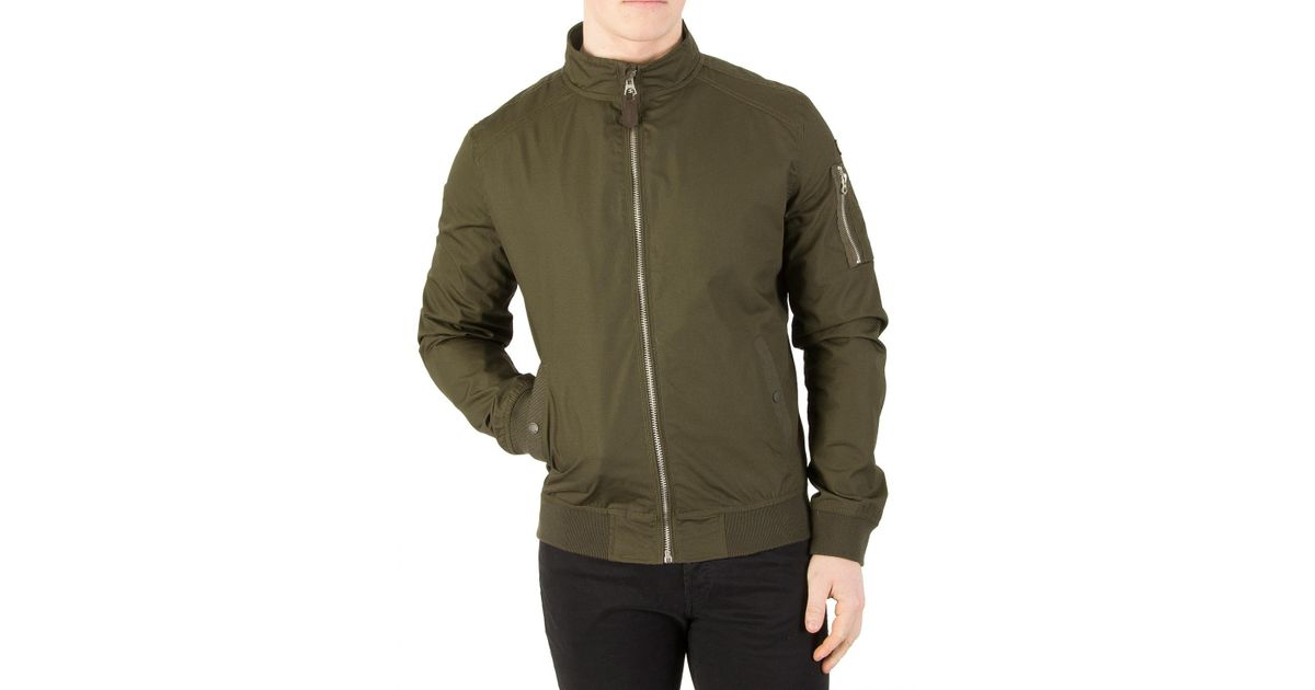 Lyst Nyc Jacket Dark Green in Schott for Khaki Men Kenny rrgfq
