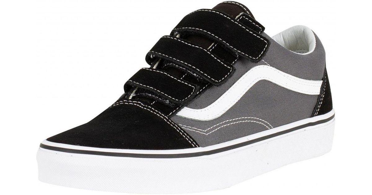 9de2a879e2 Lyst - Vans Old Skool V Sneakers in Black for Men