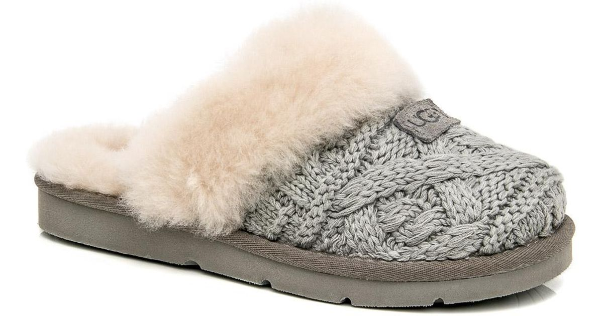 36a8bba348a4 UGG Seal Cozy Cable Clog - Lyst