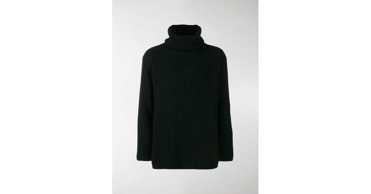 f8c0c40700645 Watanabe Watanabe In Lyst Junya Black Turtleneck Sweater Knitted qxzwCdH