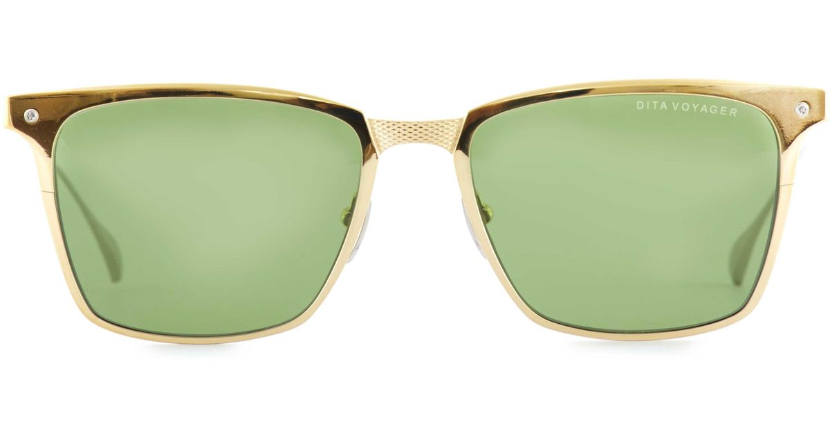 96b61555d61 Dita Eyewear Voyager Sunglasses in Metallic - Lyst