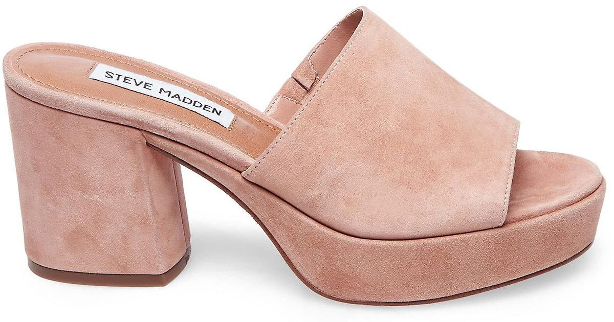 7bc1b8dc262 Steve Madden Relax in Pink - Lyst