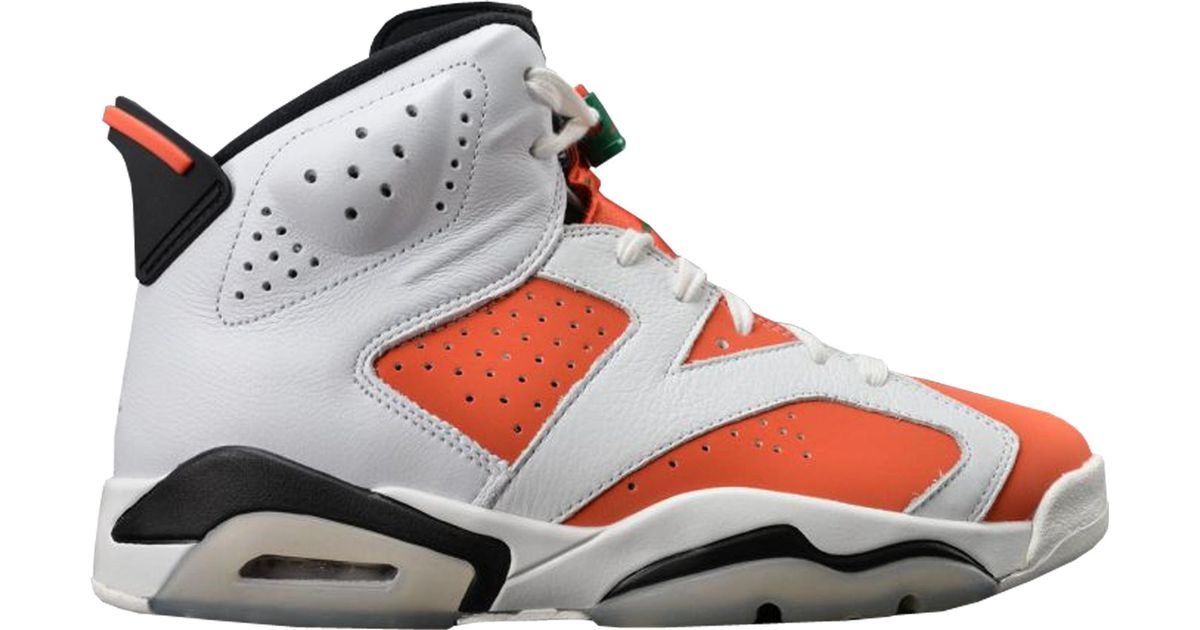 new concept 02352 4110f Lyst Nike 6 Retro Gatorade Like Mike White In For Men