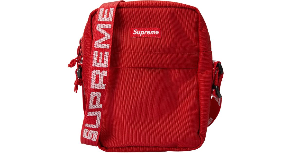 36d6a4ae34 Lyst - Supreme Shoulder Bag (ss18) Red in Red