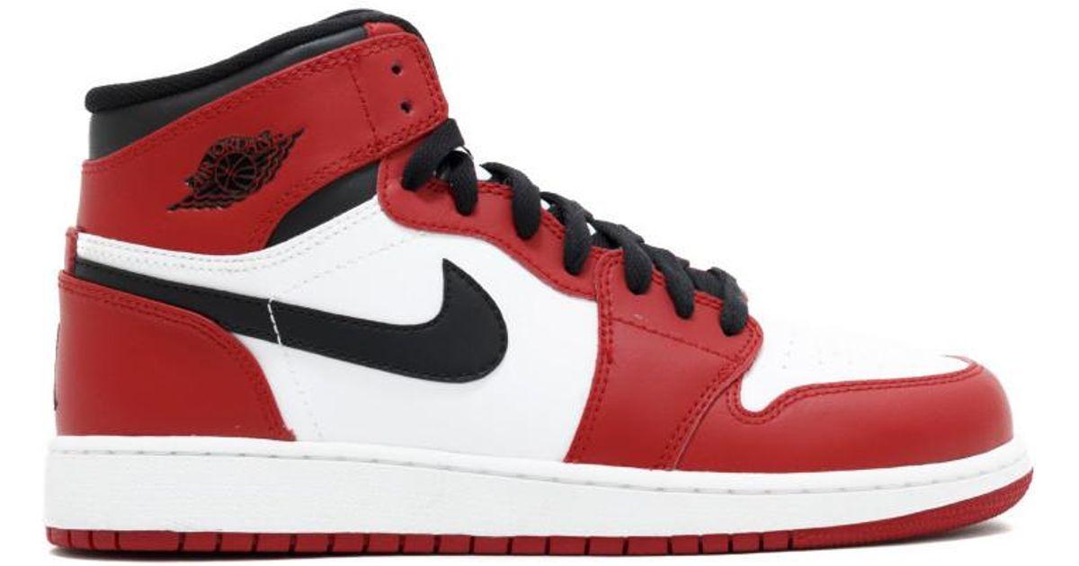 sale retailer b751c d394e Nike - Red 1 Retro Chicago 2013 (gs) for Men - Lyst
