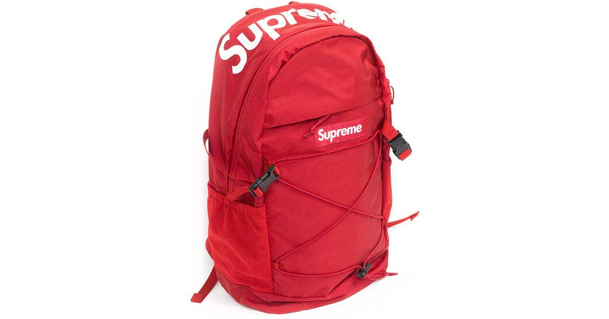 d8fe4afe Supreme 210 Denier Cordura Backpack Red in Red - Lyst