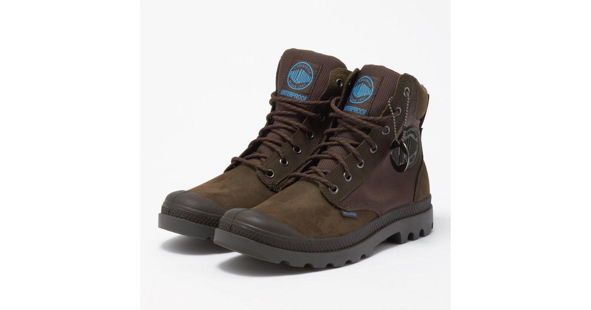 Lyst Palladium Chocolate & Forged Iron Pampa Sport Cuff Cuff Cuff Wpn Boot ... b98c9e