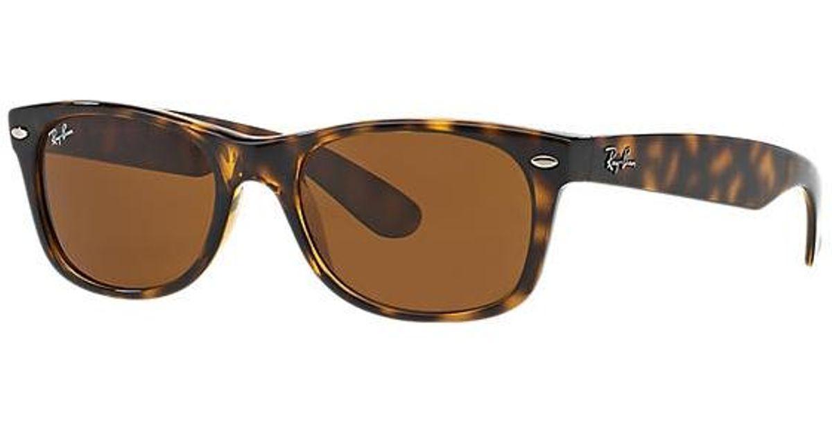 c077a40d8cd 98b5e 3331c  switzerland lyst ray ban tortoise new wayfarer classic  sunglasses brown classic b 15 lenses for men