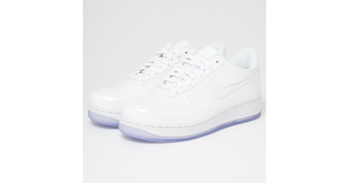 sports shoes d727d 63199 Lyst - Nike Air Force 1 Foamposite Pro Cupsole - White in White for Men