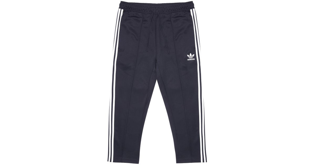 6f1b7e41a32f Lyst - adidas Originals Legend Ink Sst Relaxed Cropped Track Pants in Blue  for Men