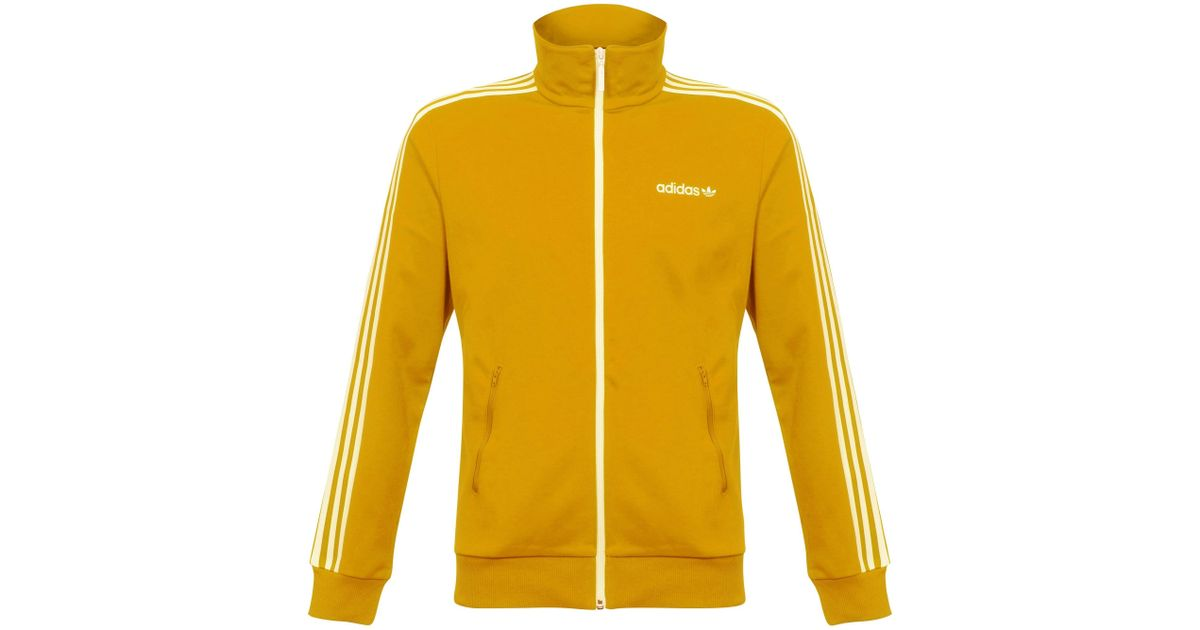 2f90f4dcecc7 Lyst - adidas Originals Tactile Yellow Beckenbauer Track Jacket in Yellow  for Men