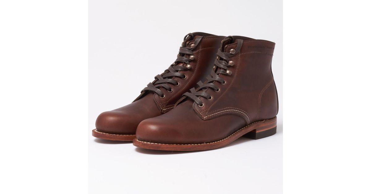 8910fe66d5b Wolverine Original 1000 Mile Brown Boots for men
