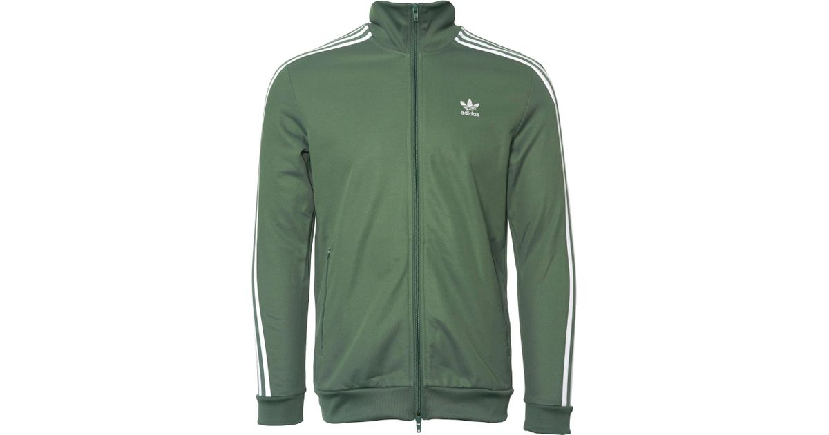 74a18616523 adidas Originals Beckenbauer Track Top - Trace Green in Green for Men - Lyst