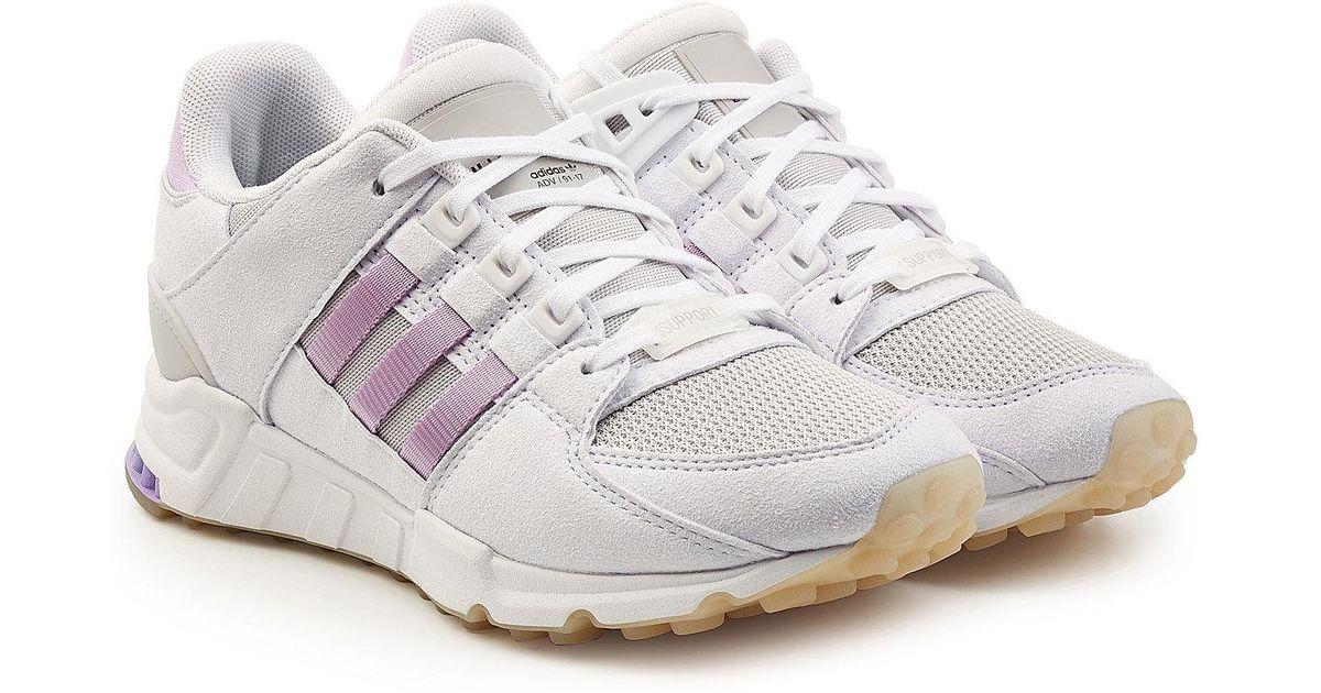 best wholesaler 0e59b c9a57 Adidas Originals - White Eqt Support Rf Sneakers - Lyst