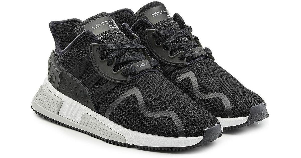outlet store 0acfa 08a6a Adidas Originals Black Eqt Cushion Advanced Sneakers for men