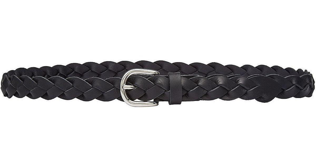 111235c71bad Étoile Isabel Marant Braided Leather Belt - Lyst
