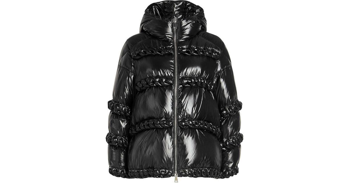 d78b86b66 Moncler Genius - Black 6 Moncler Noir Kei Ninomiya Down Jacket - Lyst