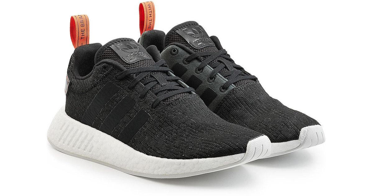 5a3179f35ef Lyst - Adidas Originals Nmd R2 Primeknit Sneakers in Black for Men