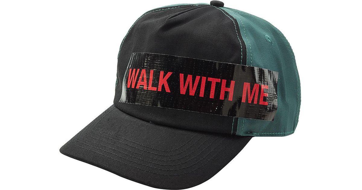 Lyst - Raf Simons Cotton Baseball Cap With Tape for Men b016499cb93