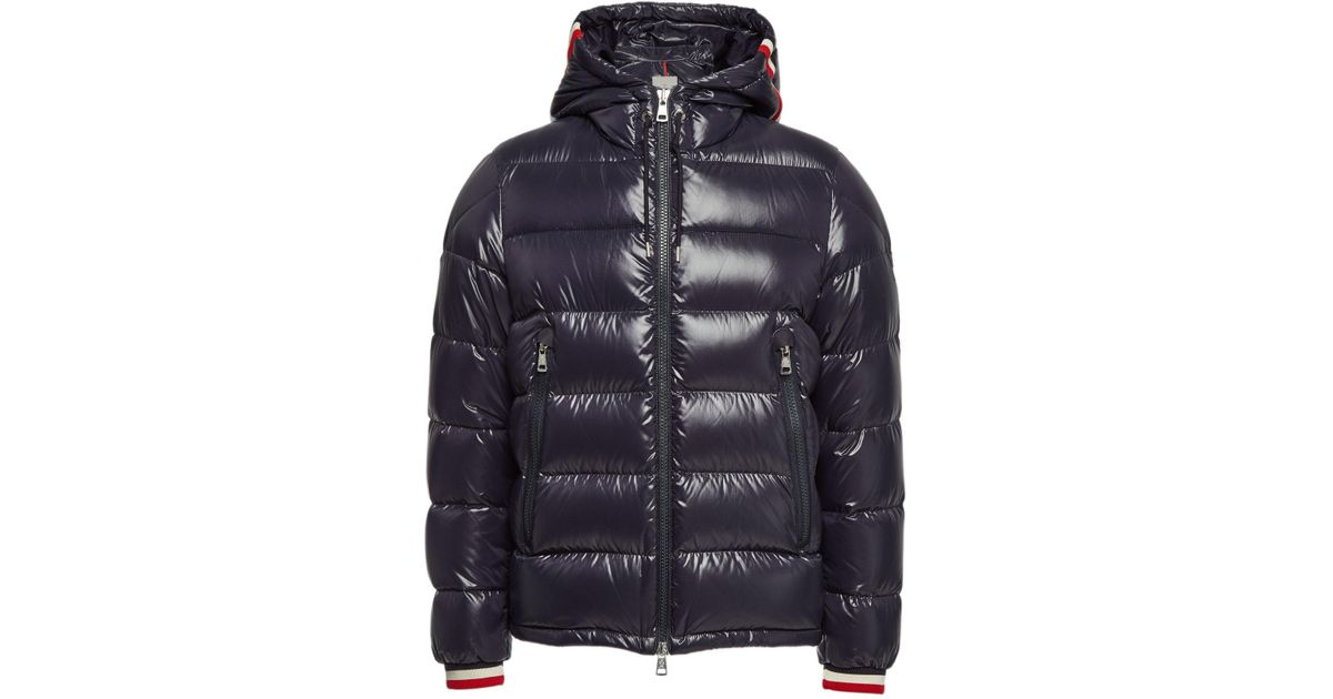 751ce9096 Moncler - Blue Alberic Quilted Down Jacket for Men - Lyst