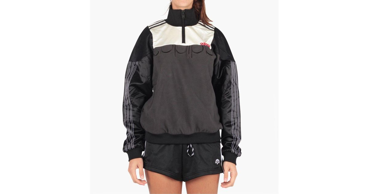 8503e0978a49 Lyst - adidas Originals Adidas Originals By Alexander Wang Disjoin Pullover  in Black