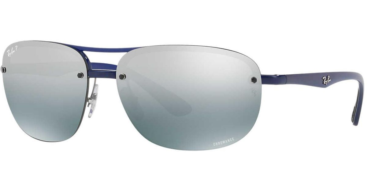 0526bbb8e9 Ray-Ban Sunglass Rb4275ch 63 in Blue for Men - Lyst