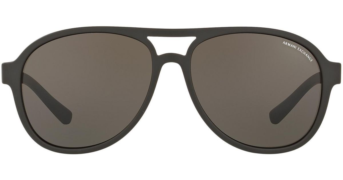a1413aefe80d Lyst - Armani Exchange Ax4055sf 58 in Brown for Men
