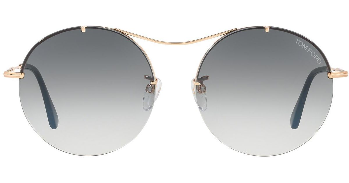 3770e40d9f3f Lyst - Tom Ford Ft0565 58 in Gray