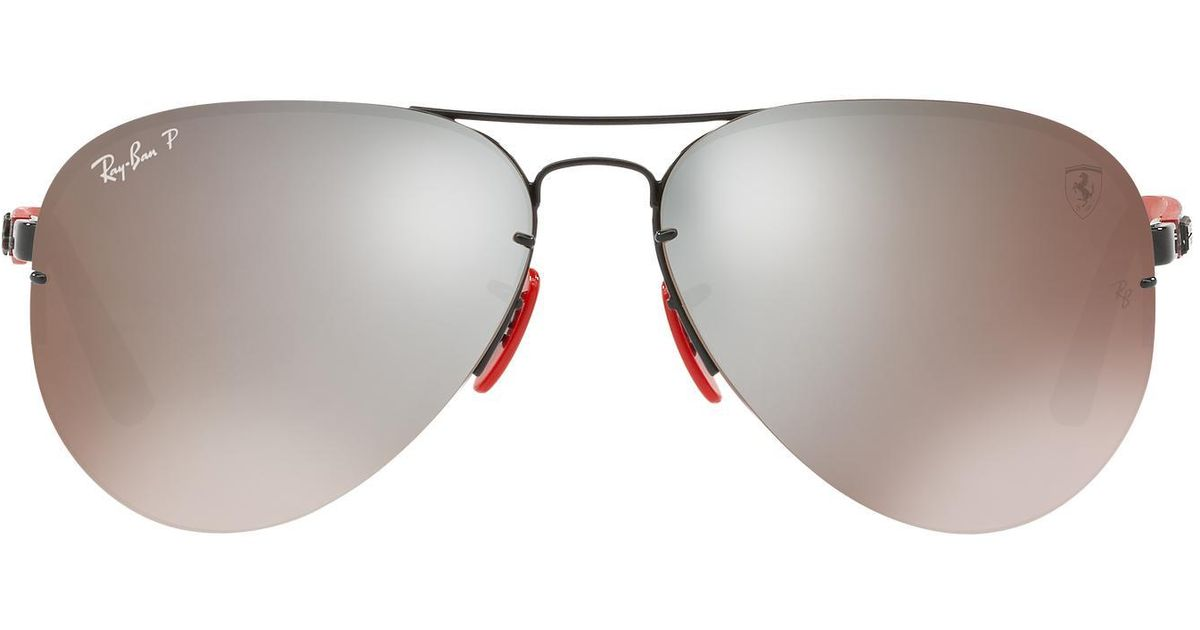 69d9f120a8151 Lyst - Ray-Ban Rb3460m Scuderia Ferrari for Men