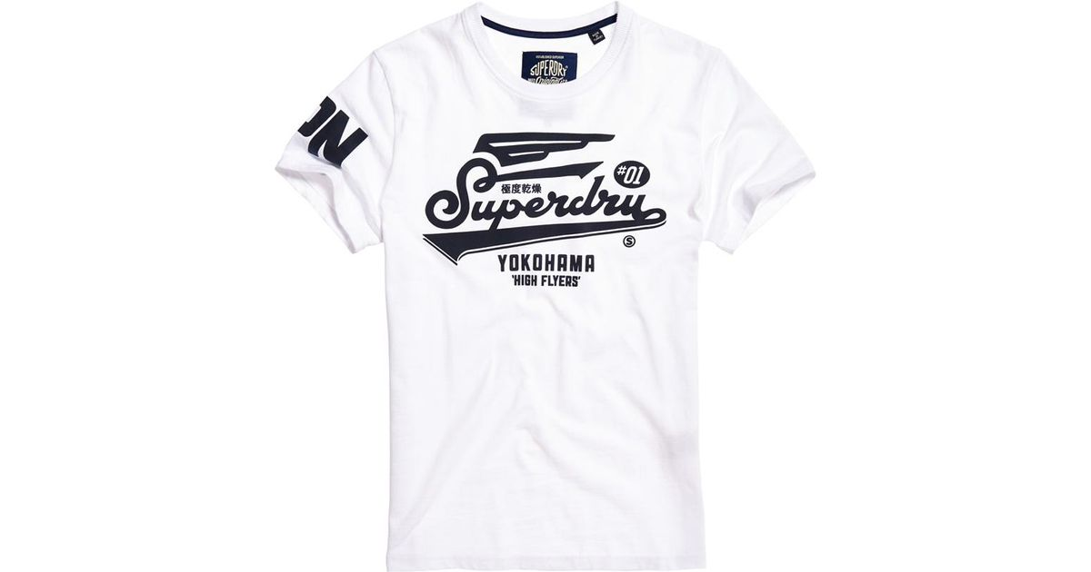 Retro High Flyers T-Shirt Superdry Prices Cheap Price 7leuQf