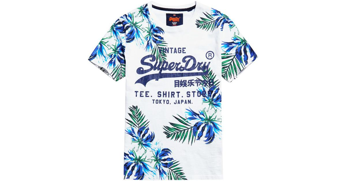 a26700234 Superdry Surf Store T-shirt in White for Men - Lyst