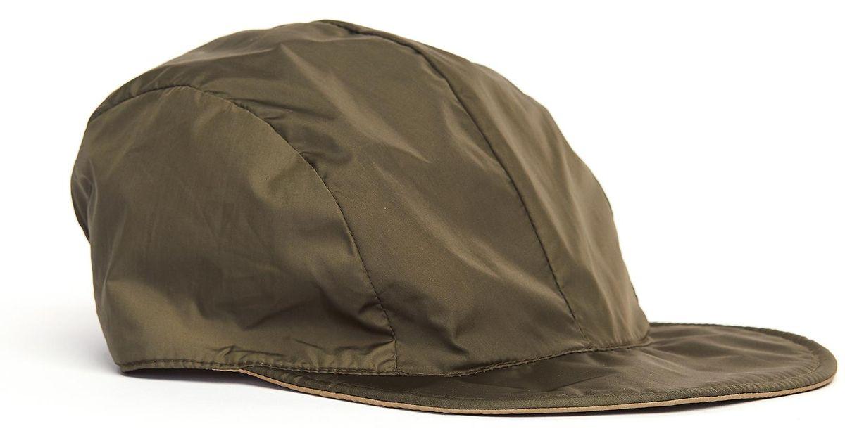 545b9331b734e1 Lyst - Hender Scheme Khaki Nylon Reversible Cap in Natural for Men