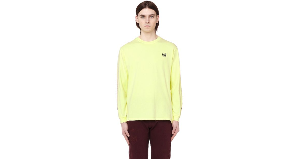 279bc2a5f Lyst - Yeezy Women s Calabasas Long Sleeve T-shirt in Yellow for Men